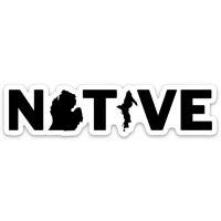 Waterproof Sticker -Native-