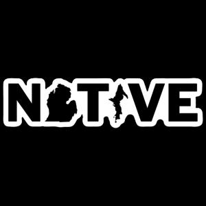 Waterproof Sticker -Native-