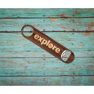 Long Wooden Opener - Explore