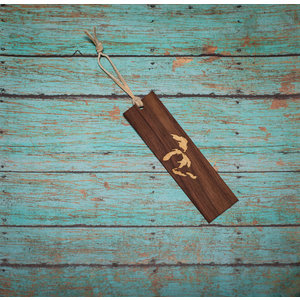 Wooden Enclosed Bookmark - Great Lakes