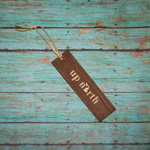 Wooden Enclosed Bookmark - Up North