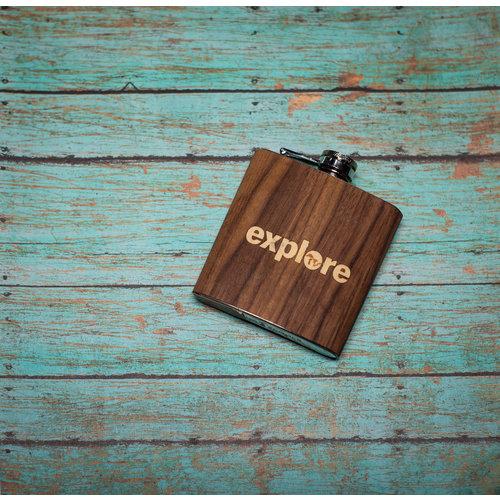 Wooden Flask Explore