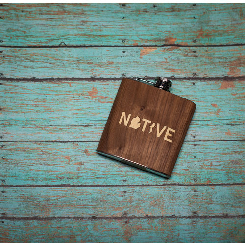 Wooden Flask Native