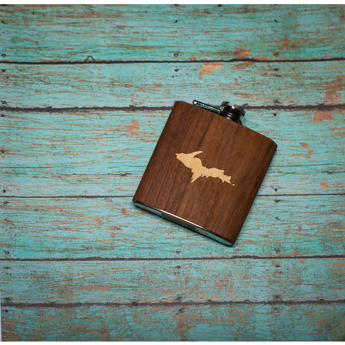 Wooden Flask UP