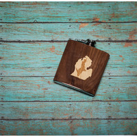 Wooden Flask UP inside LP