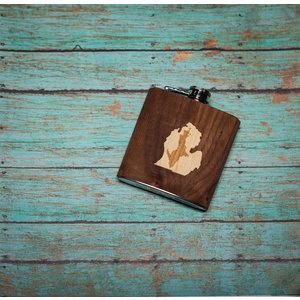 Wooden Flask UP inside LP
