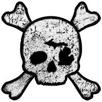 Waterproof Sticker - MI Pirate - LARGE