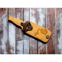 Bottle Shaped Opener -  Map