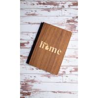 Wooden Journal - Home