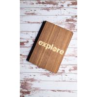 Wooden Journal - Explore