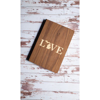 Wooden Journal - Love