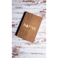 Wooden Journal - Native