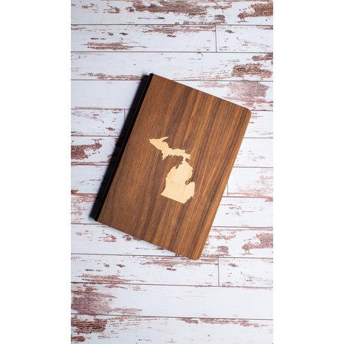 Wooden Journal - Michigan