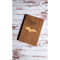 Wooden Journal - U.P.