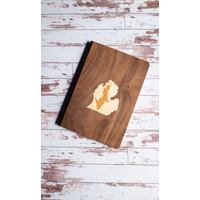 Wooden Journal - UP Inside LP