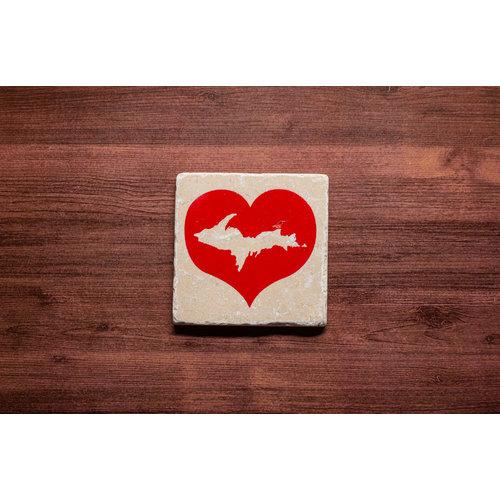 Heart UP Coaster