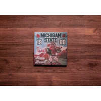 Michigan State Rose Bowl Coaster