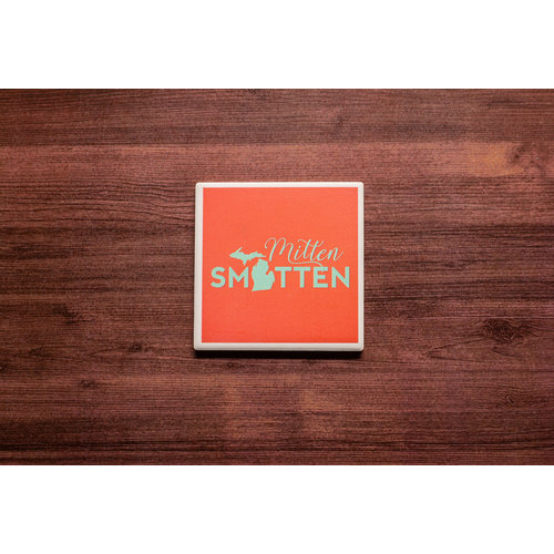 Mitten Smitten Coaster