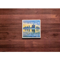 Detroit Reflection Coaster