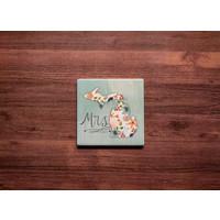 Mrs MI Coaster