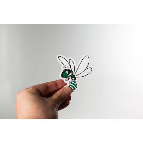 Waterproof Sticker - Hornet - MEDIUM