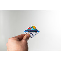 Waterproof Sticker - Great Lakes State  - SMALL