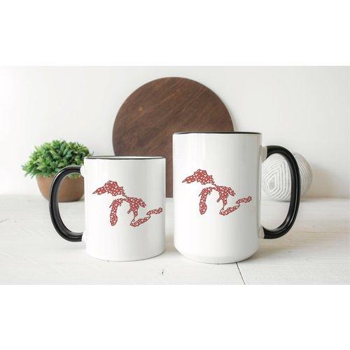 Hearts Great Lakes Mug