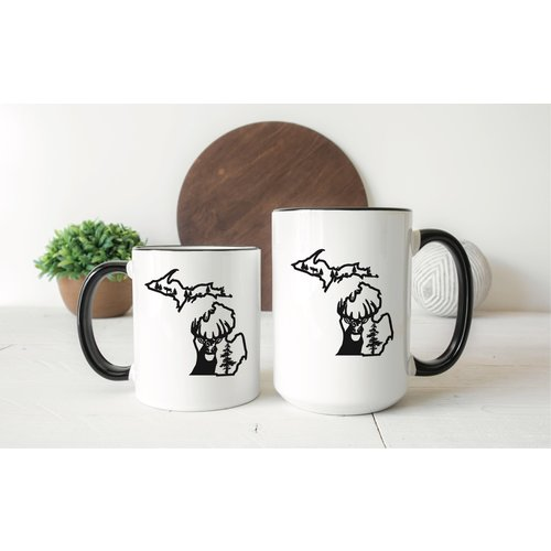 Deer Michigan Mug