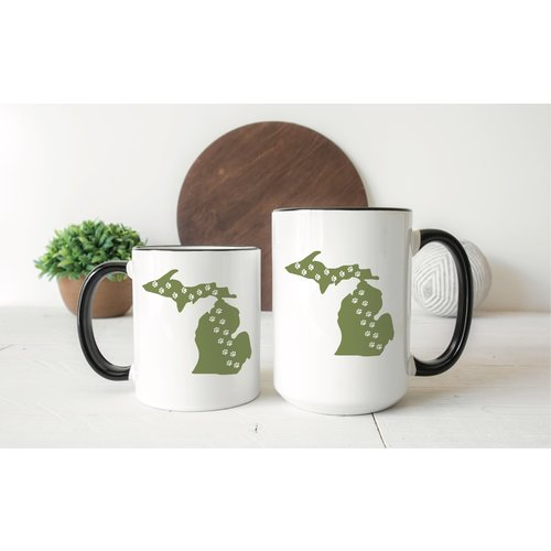 Pets Michigan Mug