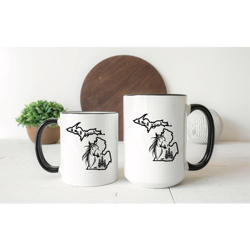 Horse Michigan Mug
