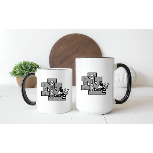 Custom Mascot Mug With Class and Name