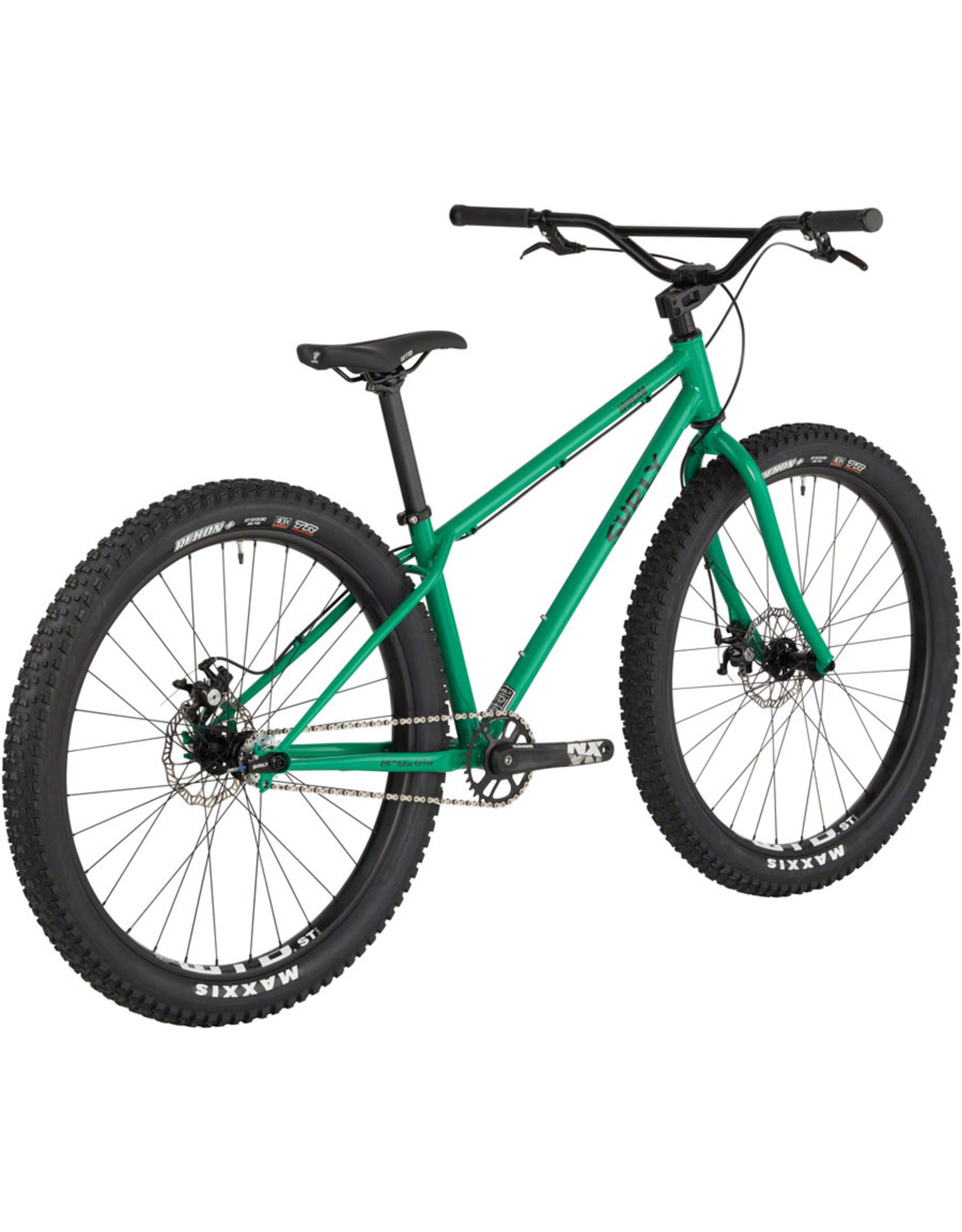 "Surly Surly Lowside 27.5"" Bike Medium Green Astro Turf"