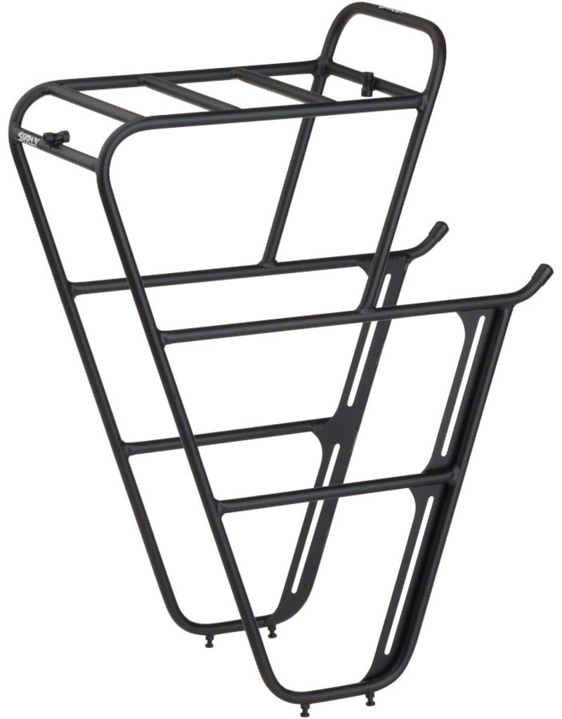 Surly Surly CroMoly Front Rack 2.0: Black
