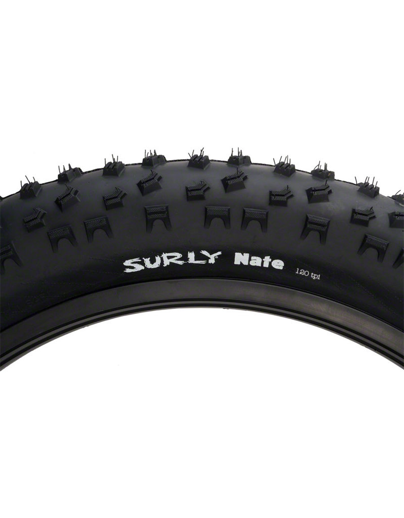 "Surly Surly Nate Tire 26 x 3.8"" 120tpi Folding Ultralight Casing"