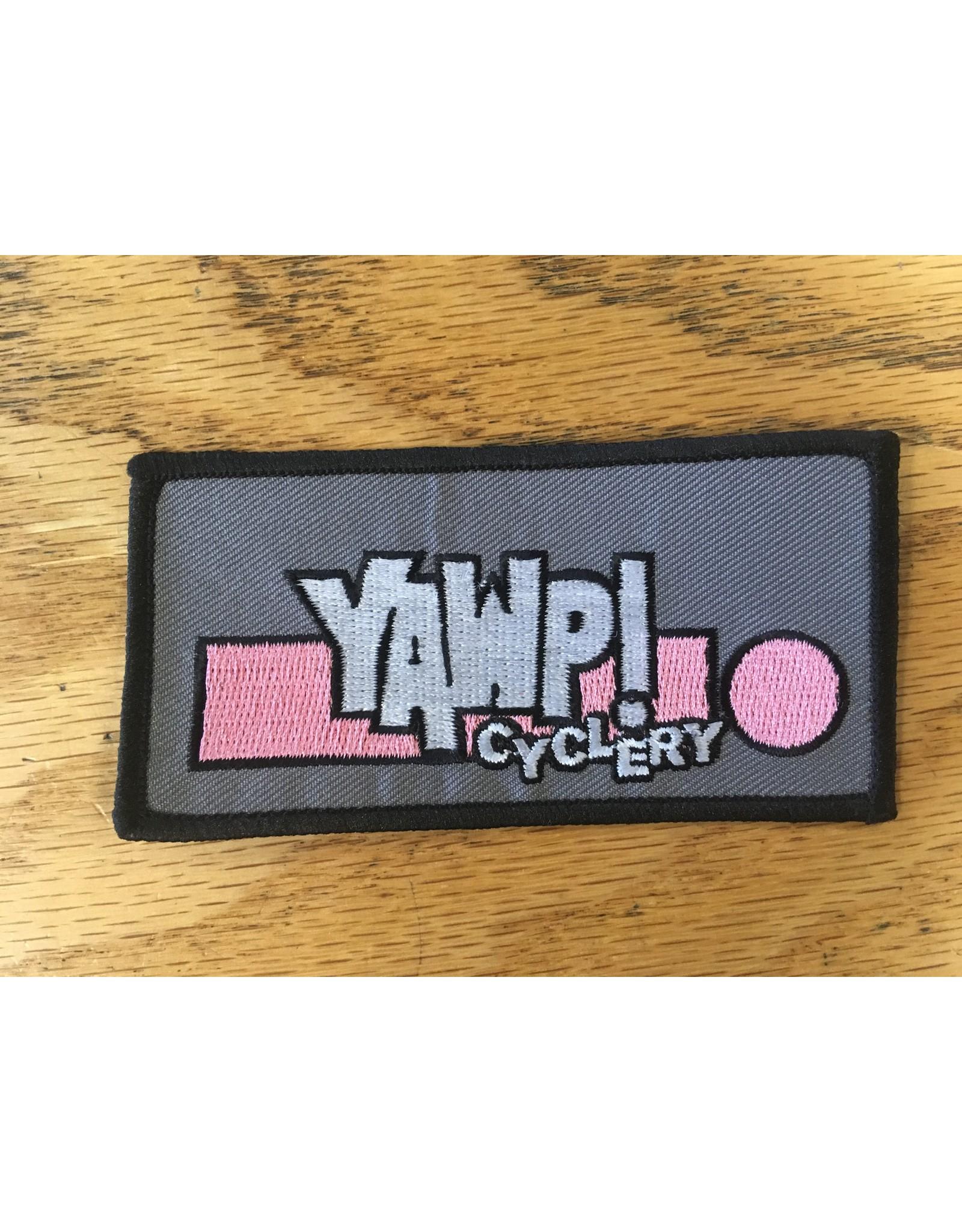 Yawp! Logo Patch 2x4
