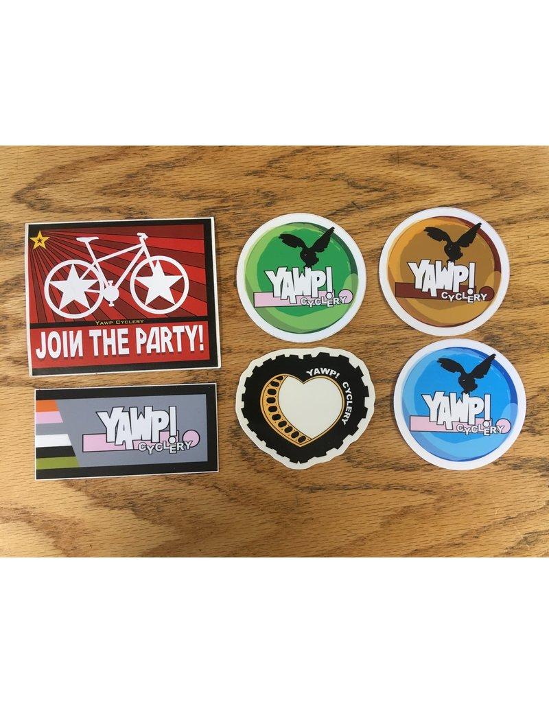 Yawp! Sticker Pack