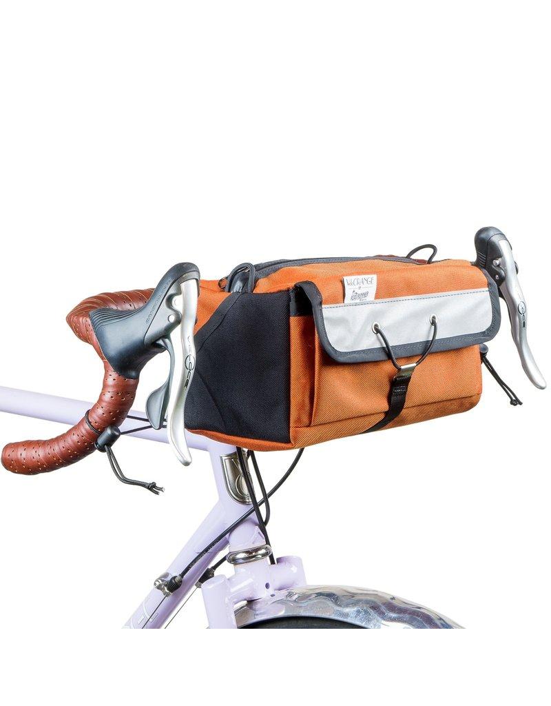 Velo Orange Mini-Rando Handlebar Bag Avocado