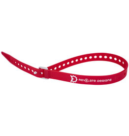 "Revelate Designs Revelate Designs Washboard Utility Strap: 20"", Red"