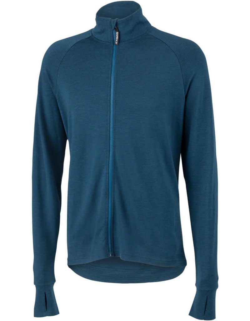 Surly Surly Long Sleeve Wool Jersey Navy