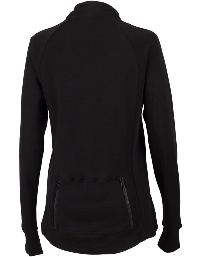 Surly Surly Women's Merino Wool Long Sleeve Jersey: Black~ XS