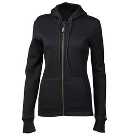 Surly Surly Women's Merino Wool Hoodie: Black SM