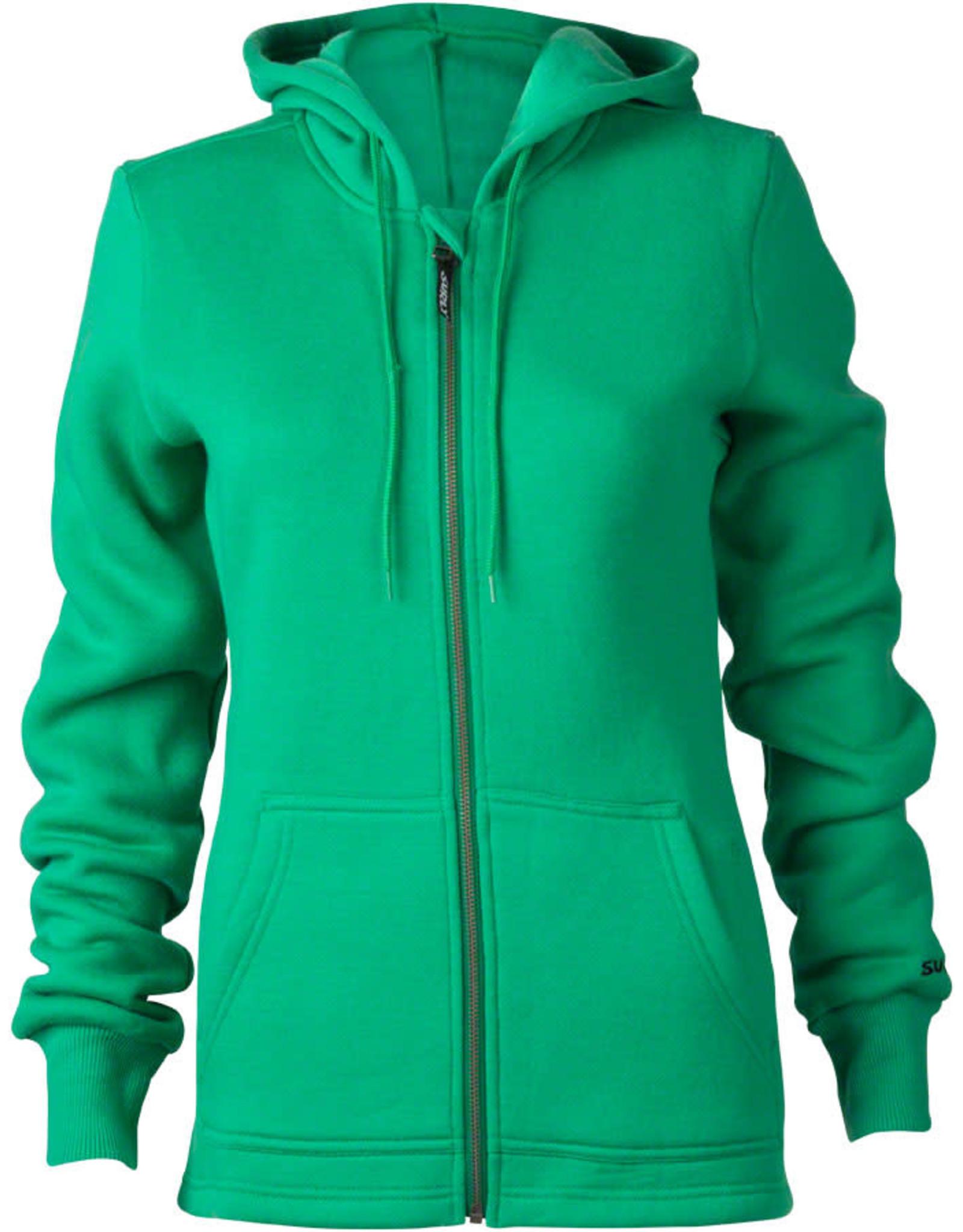 Surly Surly Women's Merino Wool Hoodie: Green XS