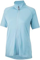 Surly Surly Merino Wool Lite Women's Short Sleeve Jersey: Tile Blue SM