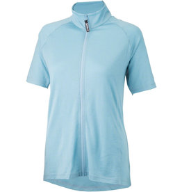 Surly Surly Merino Wool Lite Women's Short Sleeve Jersey: Tile Blue SM