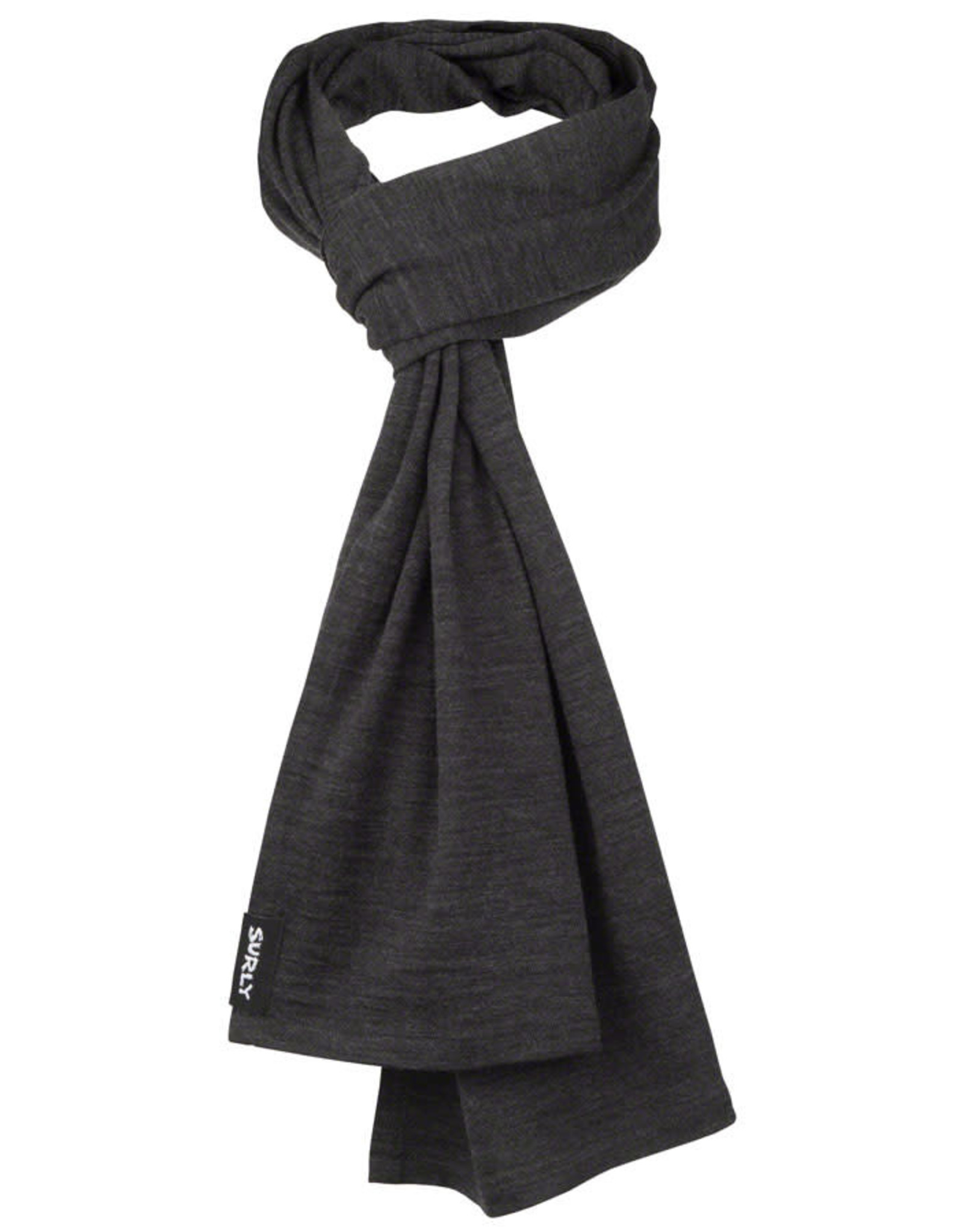 Surly Surly Merino Wool Scarf - Charcoal One Size