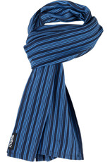 Surly Surly Merino Wool Scarf: Blue/Navy Stripe,One Size