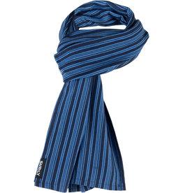 Surly Surly Merino Wool Scarf: Blue/Navy Stripe,One Size