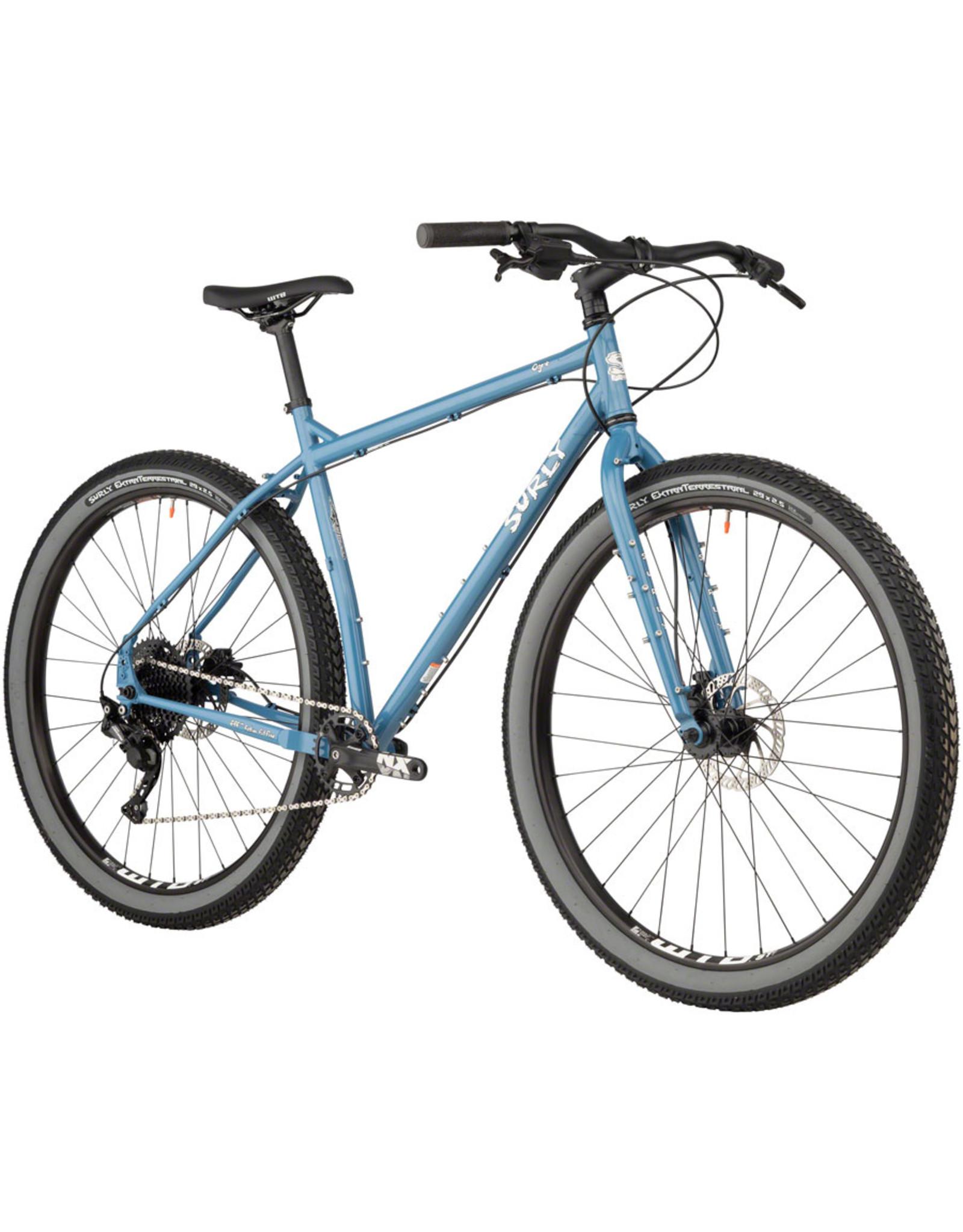 """Surly Surly Ogre Bike - 29"""" Steel Cold Slate Blue"""