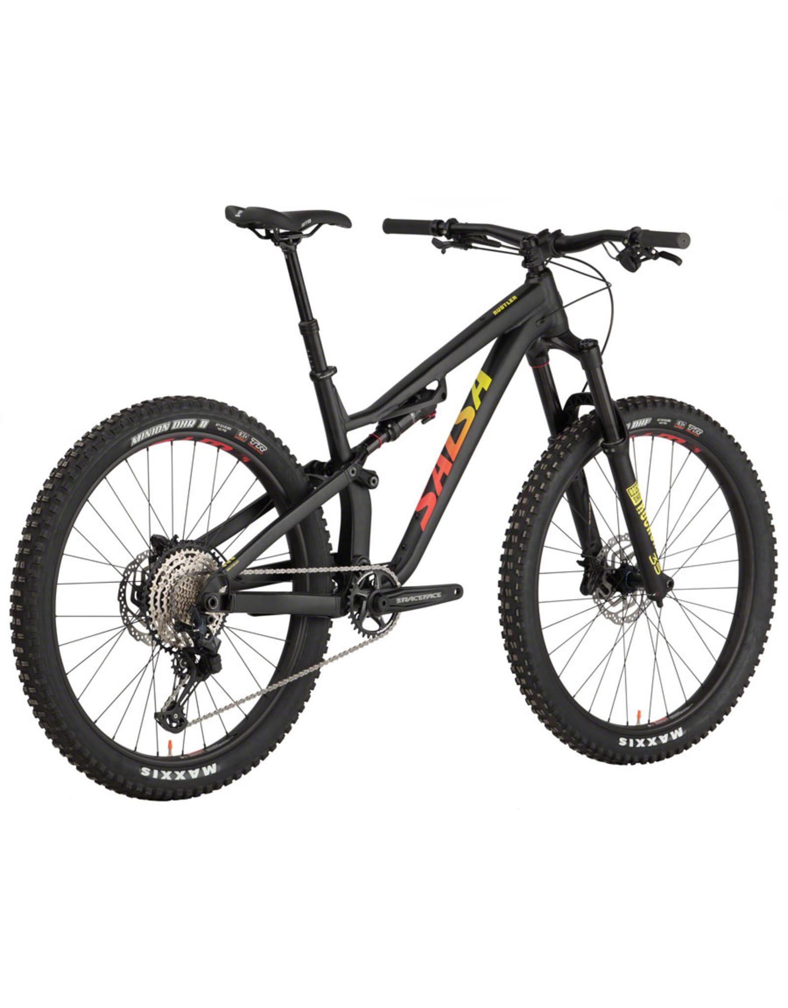 Salsa Salsa Rustler SLX Bike - 27.5, Aluminum, Black