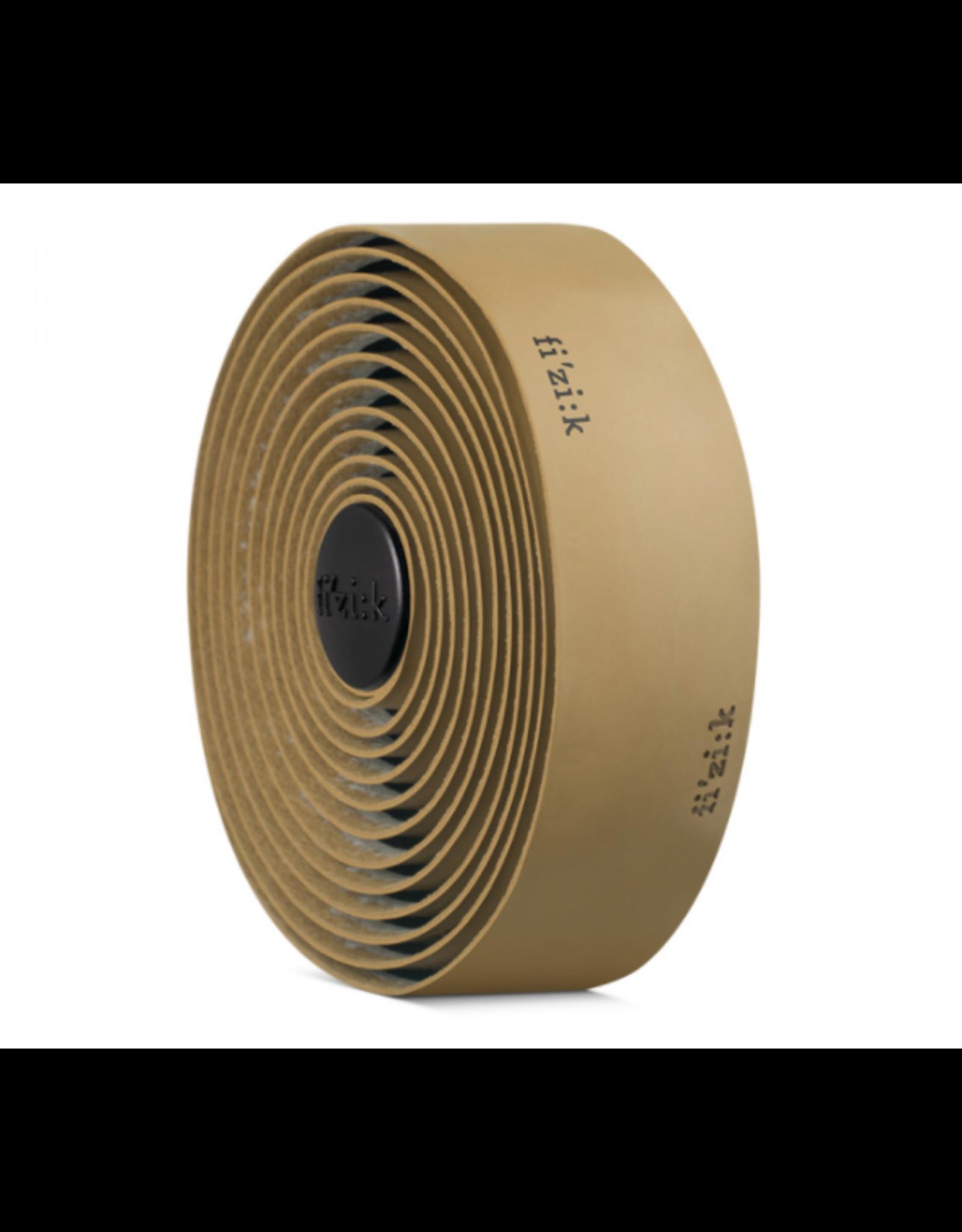 Fizik Fizik Terra Microtex Bondcush Gel Backer Tacky Handlebar Tape- BROWN - 3mm